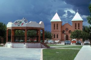 picture of old town mesilla in new mexico